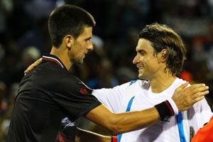 Djokovic downs determined Ferrer to reach Miami semis