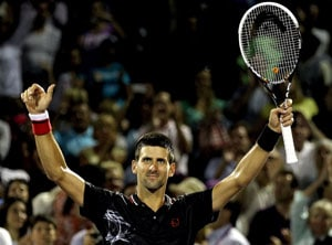 Djokovic sets up Miami finals clash with Murray