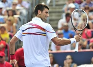 Djokovic downs Fish to win Rogers Cup