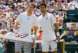 Wimbledon: Smiling Pinki flips coin at Murray-Djokovic final