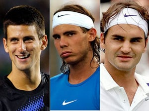 Djokovic, Nadal, Federer look for early blows