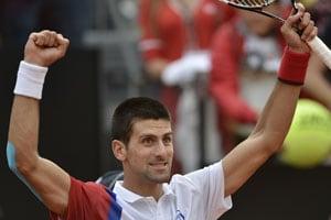 Djokovic, Nadal ease into Rome Masters semis