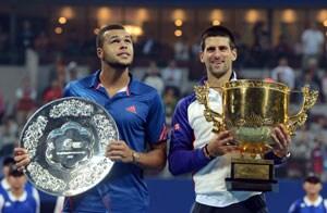 Novak Djokovic beats Jo-Wilfried Tsonga for third China Open win