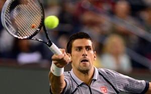 Novak Djokovic shines under lights to reach quarter-finals