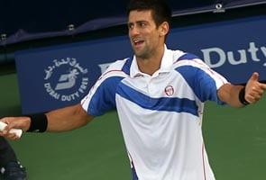 Djokovic in Dubai final after Berdych retires