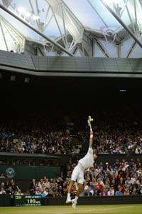 Wimbledon roof plays into Novak Djokovic's hands