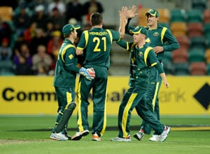 Australia beat Sri Lanka by 32 runs to level ODI series