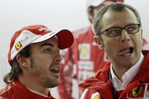 Title race is wide open, admits Ferrari