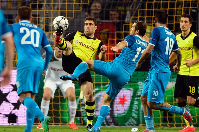 UEFA Champions League: Borussia Dortmund enter quarters despite home defeat to Zenit St. Petersburg