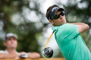 Dougherty shoots 72, retains European Masters lead