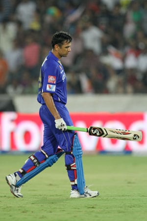 IPL 6: Rajasthan Royals' skipper Rahul Dravid rues lack of spinner on helpful Hyderabad wicket