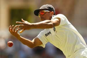 Rahul Dravid's frustration was in dropping catches