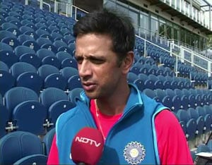 Dravid takes a break, skips net practice