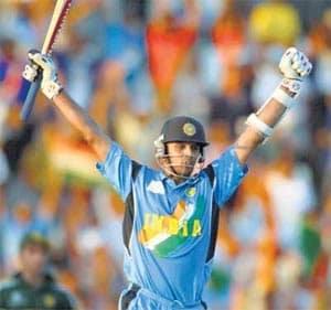 Highs and lows of Dravid's ODI career