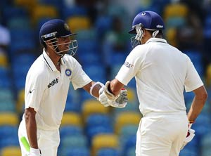 Laxman, Dravid put India in control on Day 4