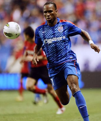 Didier Drogba asks permission to leave China