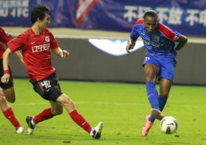 Didier Drogba still a Shanghai Shenhua player, says club