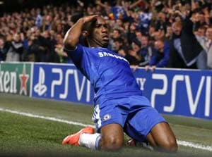 Drogba could miss Chelsea's Champions League semi