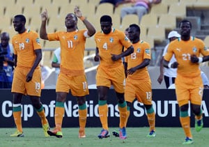 Gervinho gives Ivory Coast 2-1 win over Togo
