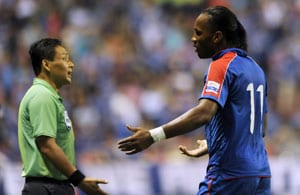 Dider Drogba hopes to stay in China, says report