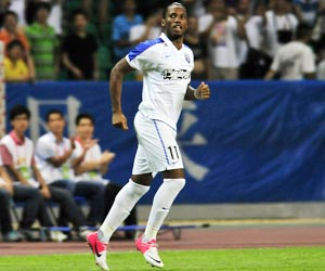 Didier Drogba makes instant impact for Shanghai Shenhua