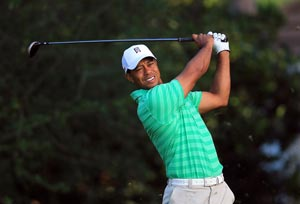 Focus on Tiger Woods shifts to injury