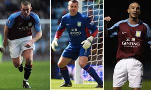 Motivated Villa trio in Manchester City's way