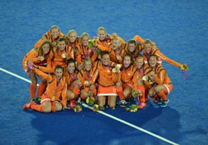 London 2012: Dutch double on as women win hockey Gold