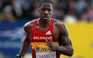 Ben Johnson backs Britain's Chambers after drug ban