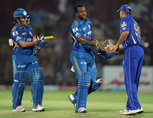 Mumbai's 10-wicket against Rajasthan in statstics