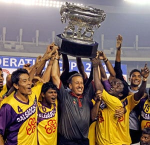 Salgaocar beat East Bengal to win Federation Cup