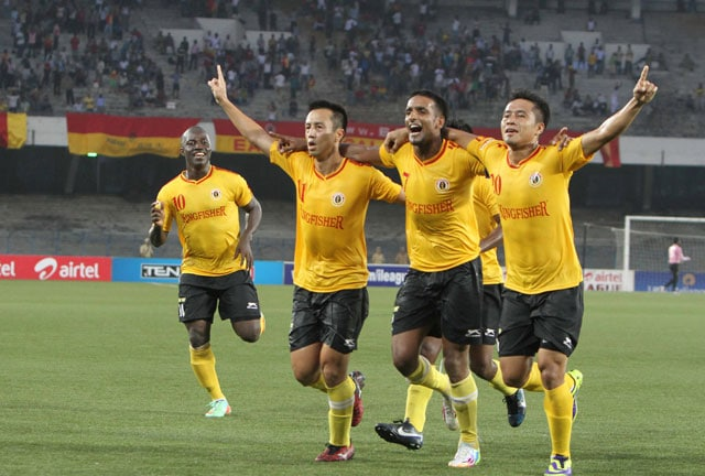 East Bengal hammer Pune FC 3-1 to keep I-League title hunt on track