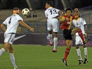 East Bengal go down to Churchill in I-League