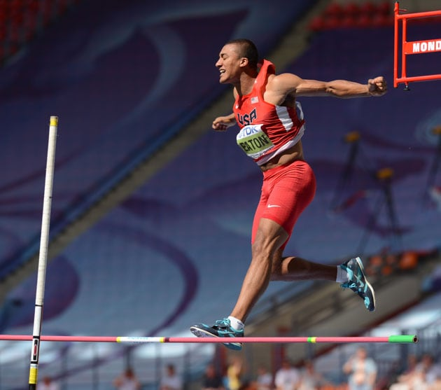 Ashton Eaton, Brittney Reese make it golden day for United States at world athletics