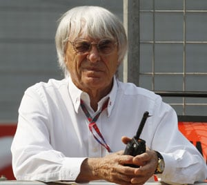 Ecclestone 'aggravated' by 400 mln dollars' claim