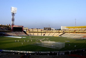 Lowest crowd ever at Eden Gardens in an India match