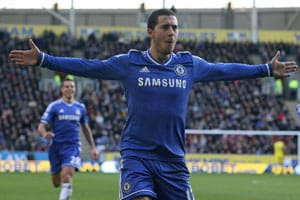 EPL: Eden Hazard, Fernando Torres supply spark as Chelsea claim top spot
