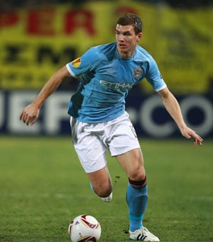 Edin Dzeko vows to fire Manchester City in Sergio Aguero's absence
