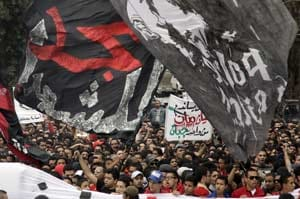 Teenager dies as soccer fans clash with Egyptian troops