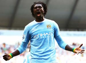 Spurs sign Adebayor on loan from Man City