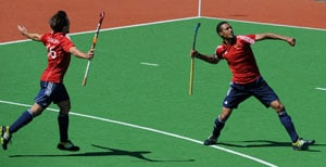 Hockey: England stun Olympic champions Germany