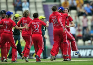 Lydia Greenway stars in T20I to help England women regain Ashes