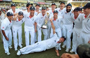 England win Test series in India after 28 years as Nagpur Test end in tame draw