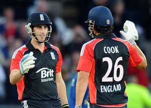 Cook wields hot bat again as England level series