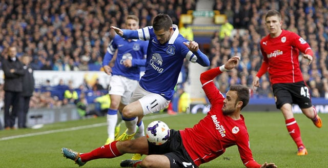 EPL: Everton clinch late 2-1 win over Cardiff City