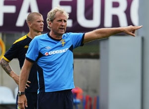 UEFA Euro 2012: Onwards and upwards, says dejected Swedish coach