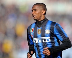 Eto'o linked with loan to Inter: Report