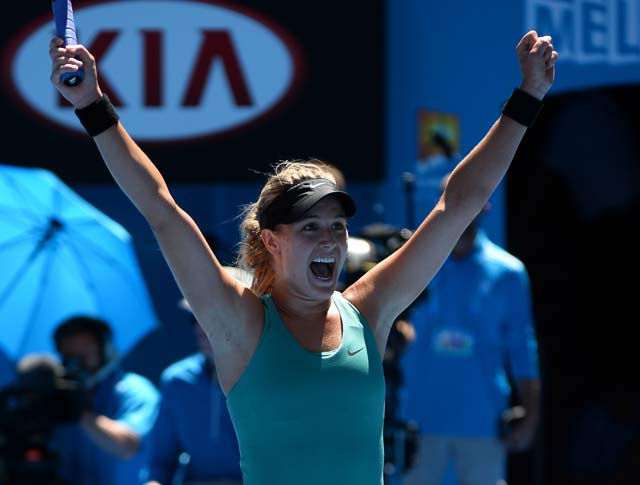 Australian Open: Eugenie Bouchard ready to realise her 'teen dream'