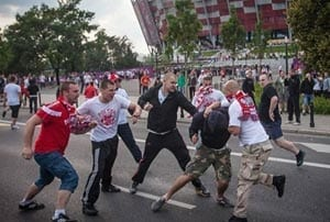 Euro 2012: 184 detained in Poland during fan violence according to police
