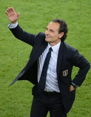 Euro 2012: Prandelli thanks Platini for Italy goal